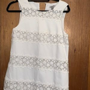 Slightly worn J Crew white cotton dress